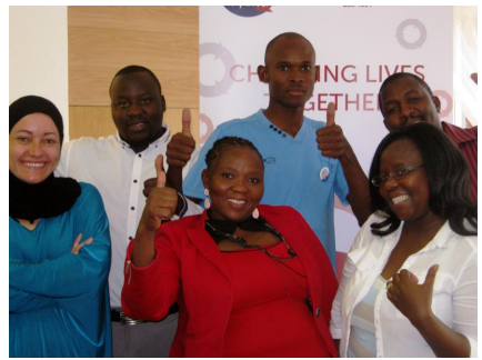 The latest group of AET/ABET Facilities to receive Training from Triple E, October 2014.