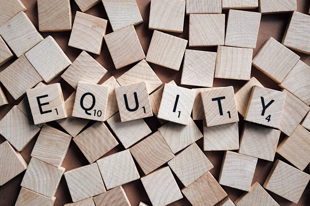 Employment Equity Scrabble block image